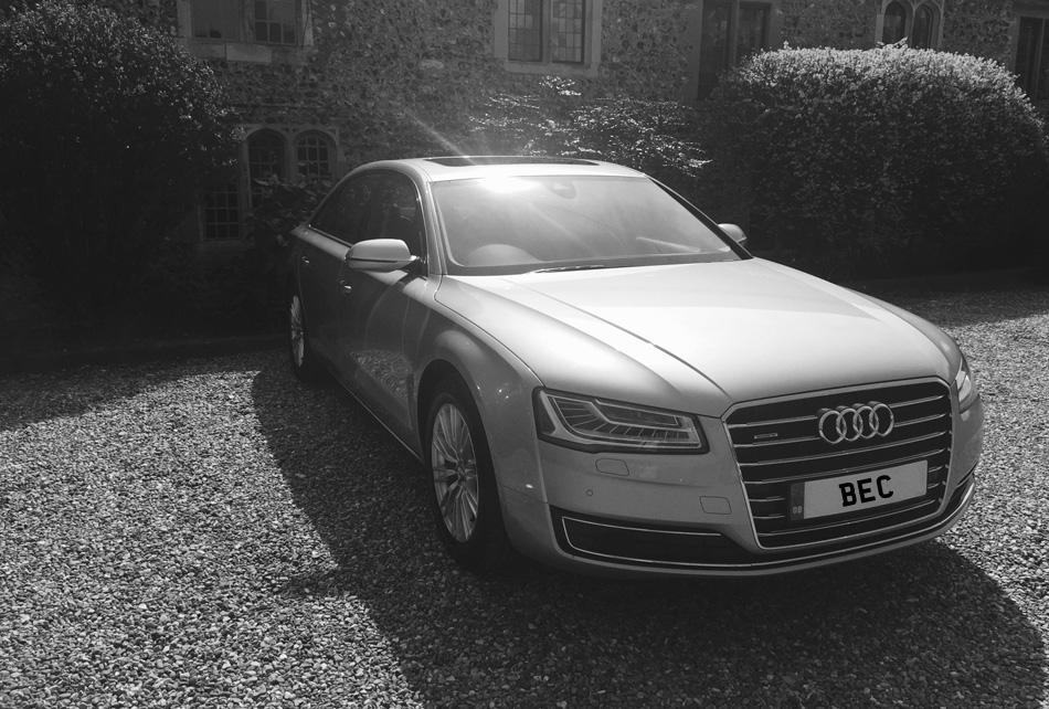 Audi A8 Luxury Car, Brighton